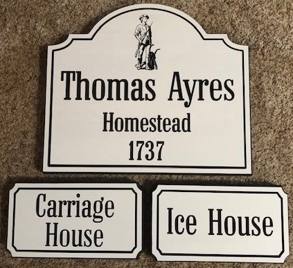 631  customized outdoor wooden signs