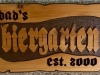 634  carved outdoor wood sign