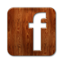 facebook-logo-wood